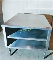 S/S Work Table - 38 x 48 x 34