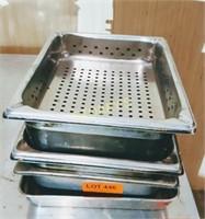 1/2 size steam pans