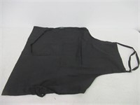 Kitchen Apron With Pocket - Black