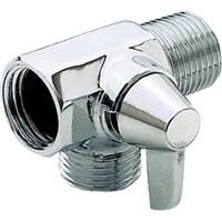 Delta Shower Arm Diverter for Hand Shower, Chrome