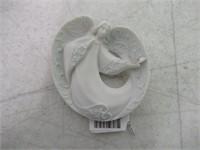 Apple Tree Design Angel & Butterfly Ornament