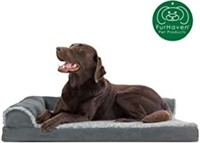 FurHaven Deluxe Orthopedic Chaise Couch Pet Bed