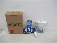 """As Is"" Brita Grand Water Pitcher with Filter -"