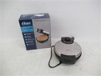 """Used"" Oster Belgian Waffle Maker, Stainless Steel"