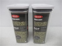 "(2) ""As Is"" OXO Good Grips Pop Container 2.7"