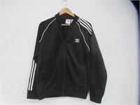 Adidas Men's Large Zip Up Sweater, Black