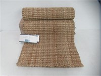 """J & M Home Fashions Rolled Jute Rug, 22 by 60"""","""