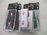 Lot of  (5) NBA Nike Headband - Various Colours