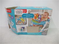 Fisher-Price Deluxe Sit-Me-Up Floor Seat with Toy