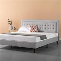 Zinus CSPB-T-K Upholstered Button Tufted Premium