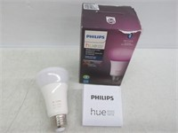 Philips Hue White & Color Ambiance Single A19