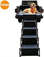 Upgraded Pet Dog Car Step Stairs, Accordion