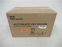 """""""Used"""" Wopet Automatic Pet Feeder Dog and Cat"""