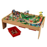 KidKraft 17850 Waterfall Mountain Train Set and