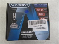 NOVSIGHT 9007 HB5 LED Headlight Bulbs,10000LM Head