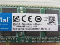 Crucial 16GB Kit (8GBx2) DDR3/DDR3L 1866 MT/s
