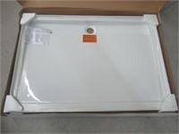 Kohler K-9996-0 Groove Acrylic Receptor 60-Inch by
