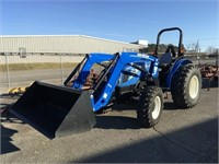 New Holland Tractor, Boat, Implements & MORE
