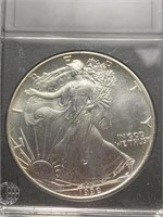 1992 Silver Standing Liberty Dollar Coin
