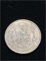 1990 Morgan Silver Dollar Coin