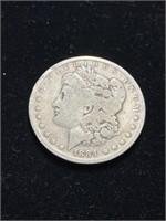1884 Morgan Silver Dollar Coin