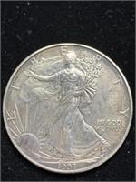 1993 Standing Liberty Silver Dollar Coin