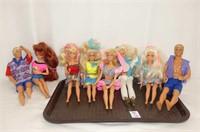 Mattel Ken & Barbie Dolls