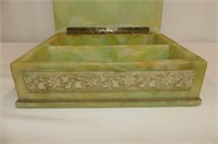 3D Cherub Top Dresser Box