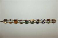 Jewellery --OAMRT 25 Yr. Pin, Black & Gold Cat Nec