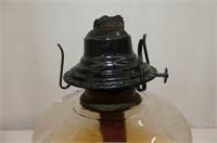 Swirl Base Coal Oil Lamp