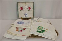Heritage Pillow Cases (New), Needlework Luncheon