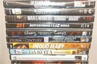 25 DVD's--Notebook, Desk Squad + 6 Big Bang