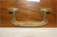 Italian Silverplate Flatware in Wooden Carry Case