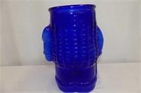 Cobalt Colour Peanut Cookie Jar