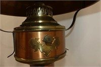 Brass & Copper Table Lamp