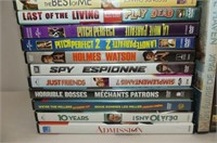 36 DVD's--Dirty Grandpa, Delivery Man, Pitch