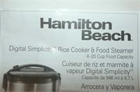 Hamilton Beach Rice Cooker & Food Steamer