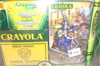 4 Crayola Collection 100th Anniversary Sets,
