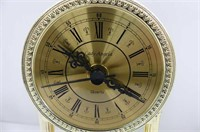 """Plastic Dome 8"""" Anniversary Clock (as is), 2 Barom"""