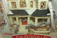 Dickensville Porcelain Lighted Houses