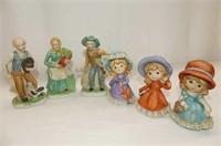 Highfield Bakeries Horse & Cart, 3 Lipco Figurines