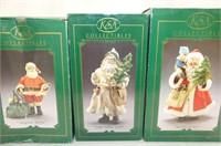 3 Fabriche Santa Collectibles
