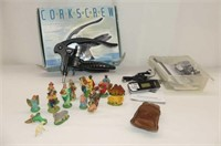 Deluxe Corkscrew in Box, Coby USB Stick MP3 Player