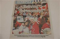 2010 Collector's Issue Winter Olympics & Sun