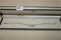 10kt. Yellow Gold Cultured Pearl Bracelet