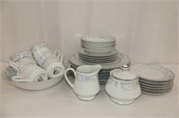 Sheffield 'Blue Whisper' Porcelain China