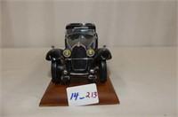 1930 Bugatti Royal Coupe Napoleon on Display Board