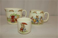 RD Bunnykins--8 Pcs.--Bowls, Cups