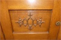 Side Board w/2 Serpentine Drawers