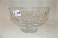 Pinwheel Pedestal Bowl